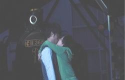 今度は自分の方からキスをする純