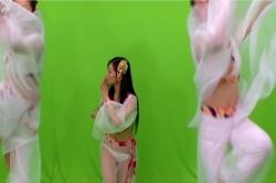 踊りシーンの撮影
