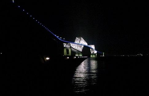 夜ゲートブリッジ