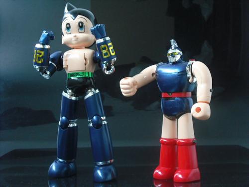 ダイナマイトアクション! 鉄人28号 マグネロボット鉄腕アトム