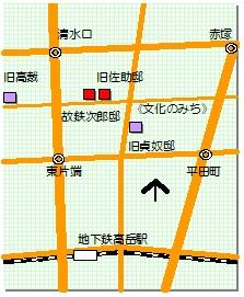 文化のみち マップ2