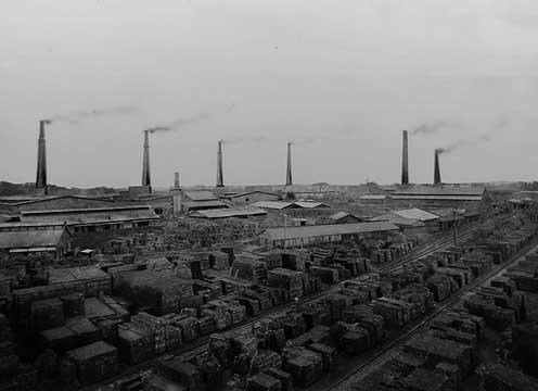 上敷面工場