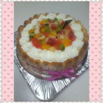 シャルロットケーキ♥♥