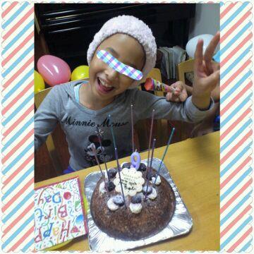9歳、おめでとう!