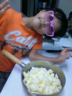 りんごジャム作るゾ~!