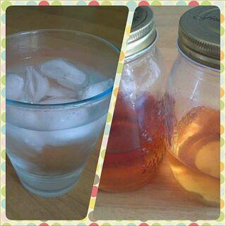 梅酢シロップ&リンゴ酢シロップ♡
