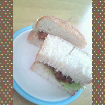 お昼は、サンドイッチ★