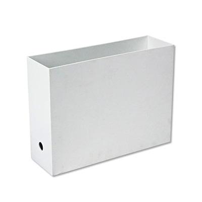 ポリプロピレンファイルボックス・スタンダードタイプ・A4用・ホワイトグレー