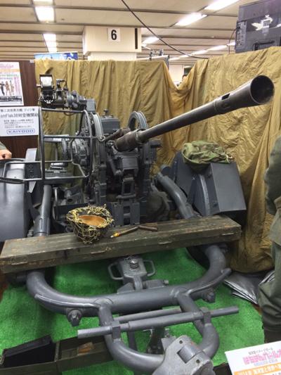 2cmFlak38対空機関砲