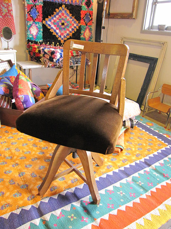 ドクターチェア 古い回転椅子 古家具
