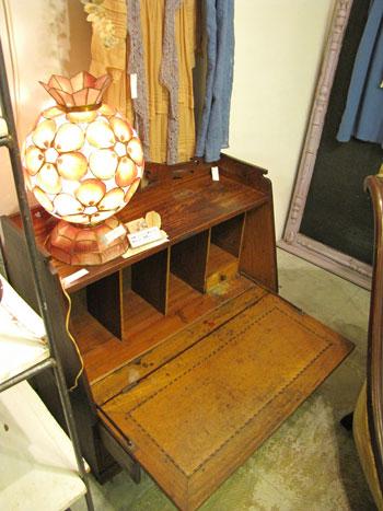 ライティングビューロー 日本アンティーク 家具
