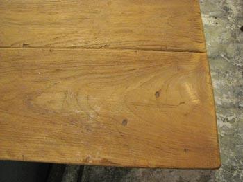 オールドメゾン オールドチークのダイニングテーブル