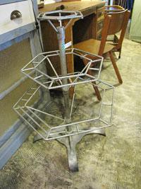 工業系 8角形の回転ラック