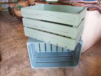 ペイント木箱