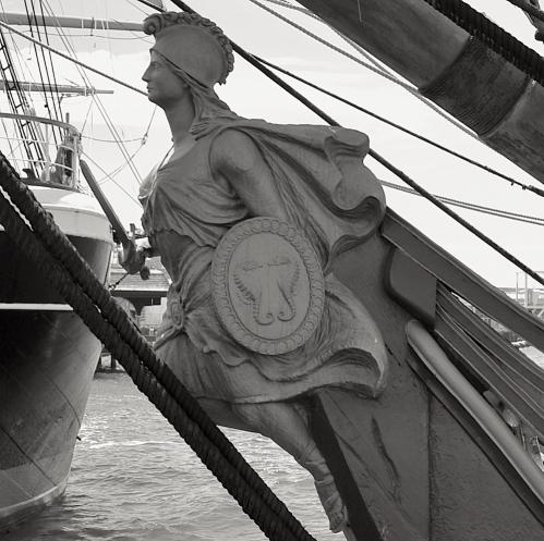 HMS Surprise Figurehead