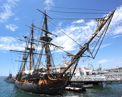 HMS Surprise Full VIew