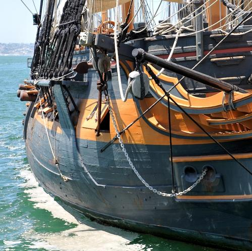 HMS Surprise Tumblehome
