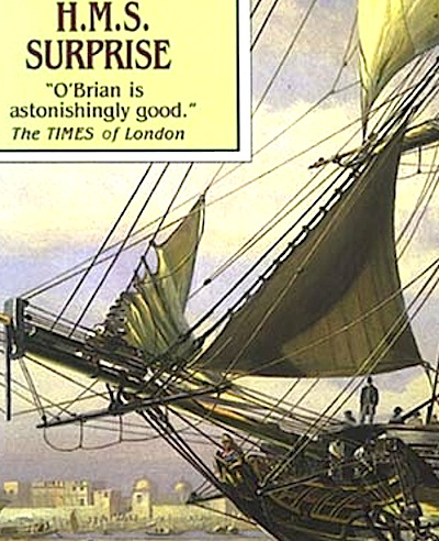 HMS Surprise Book Cover