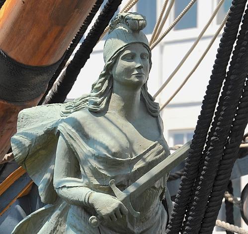 HMS Surprise 船首像(2)