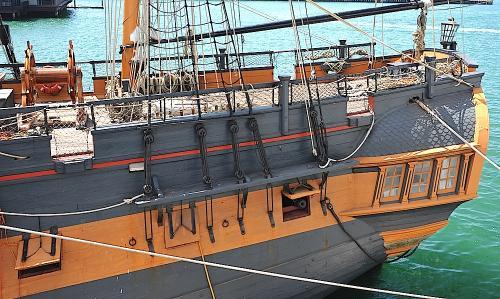 HMS SUrprise Qtr Deck