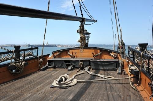 HMS Surprise Qter Deck
