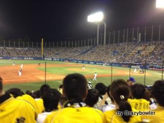 神宮球場 ヤクルトvs阪神2013/9/15 バレンティン56号