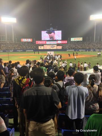 神宮球場 ヤクルトvs阪神2013/9/15