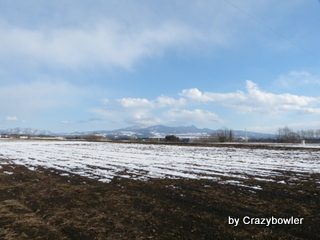沼田の冬の終わり