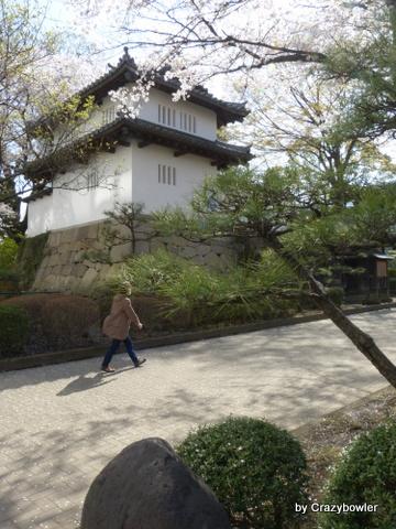 高崎城址公園 乾櫓 2013/4