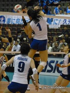 Vプレミアリーグ女子2012/2013 セミF 久光vs東レ