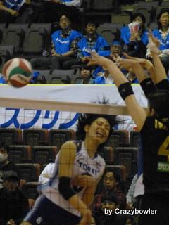 Vプレミアリーグ女子2012/13 セミファイナル 東レvs久光