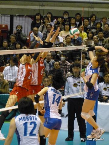 Vプレミアリーグ女子2012/13三位決定戦
