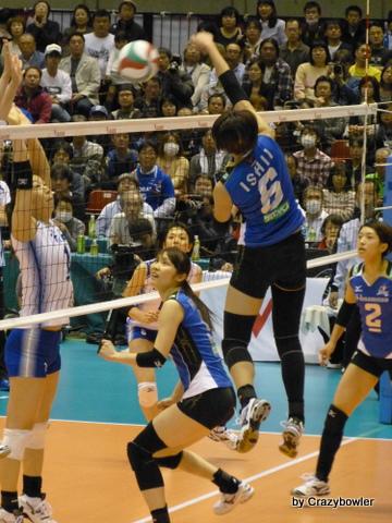 Vプレミアリーグ女子2012/13 ファイナル 東レvs久光