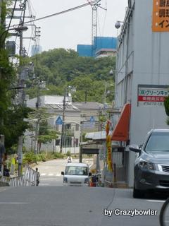 明治通りから見る箱根山?