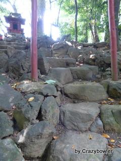 高田富士 水稲荷神社