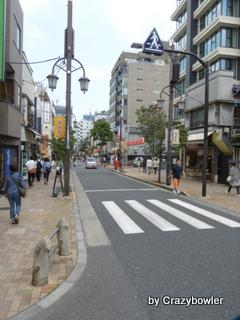 早稲田通り 神楽坂坂上