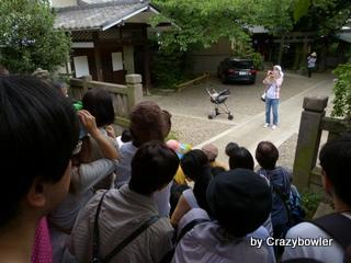 筑土八幡神社 記念撮影