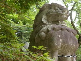 香取神社 狛犬