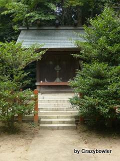 香取神社 奥院へ