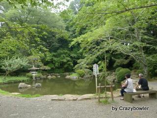 香取神社 神池