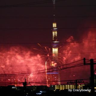 荒川の花火2013
