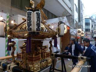 富士見二丁目の祭り