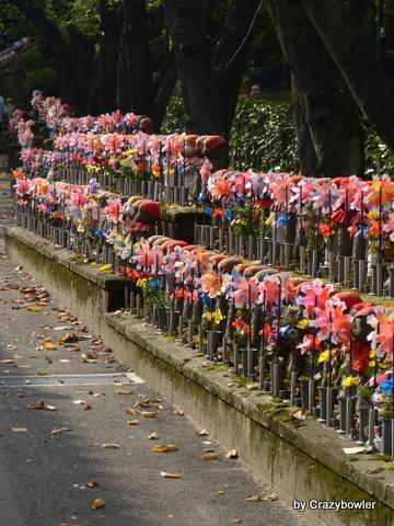 増上寺の千躰子育地蔵尊