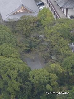 東京タワーから増上寺御霊屋