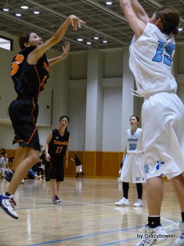 第12回東京都実業団バスケットボール選手権 ミツウロコvs特別区