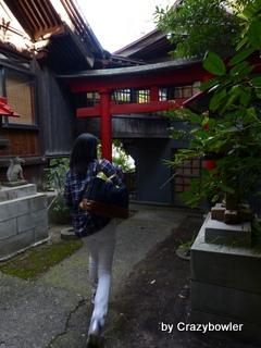 福一稲荷神社の鳥居(新潟市)