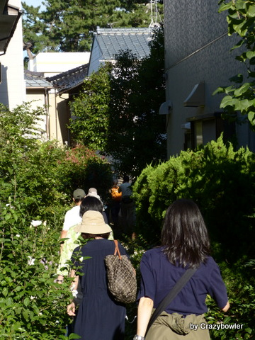 新潟市住宅街の路地