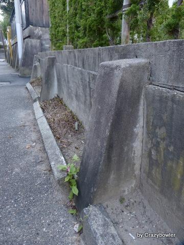 新潟市中央区 田中町の階段群