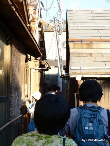 新潟市 田中町と古町通の路地