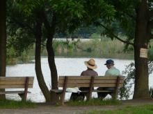 公園の語らい